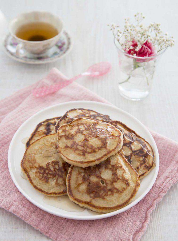 Photo de la recette : Pancakes à la noix de coco, façon Mokary de Madagascar