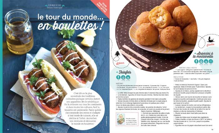 Esprit Veggie #4: tour du monde des boulettes