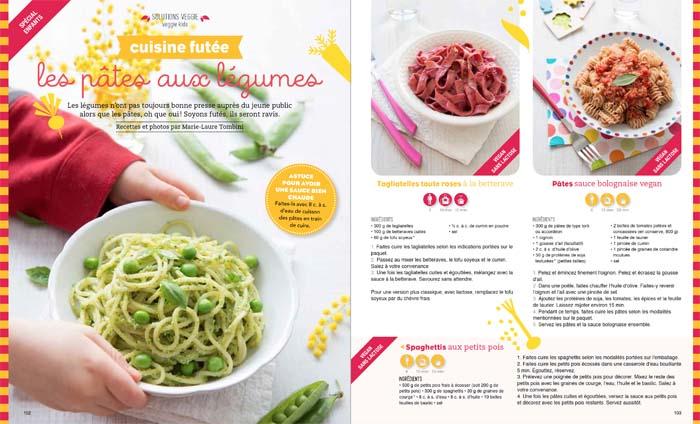 Esprit Veggie #4: pâtes aux légumes - veggie kids