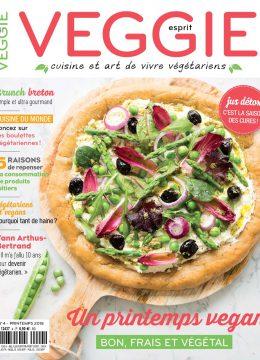 Magazine Esprit Veggie #4 : pour un printemps bon, frais et végétal !