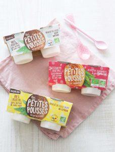 Les petites pousses – yaourt végétal au lait de coco ou lait d'amande