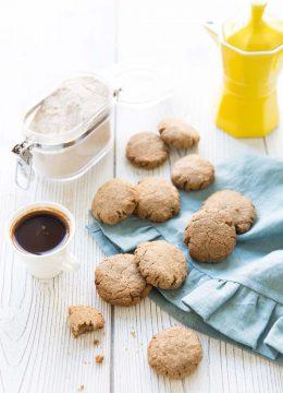 Cookies au beurre de cacao et sarrasin