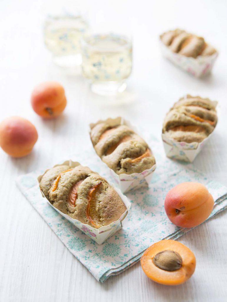 Photo de la recette : Muffins aux abricots et à la farine de pépins de courge