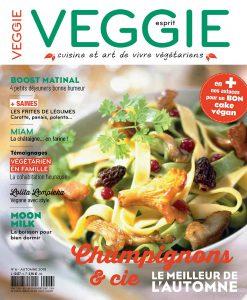 Le magazine Esprit Veggie 6 est en kiosque !