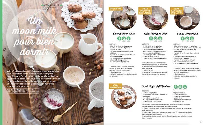Magazine Esprit Veggie 6: Moon milk