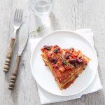 Lasagnes de tortillas aux haricots rouges – recette vegan express