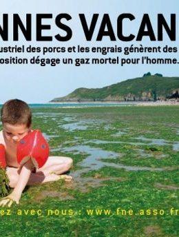 Algues vertes de Bretagne & Agriculture intensive : coup de gueule écolo !