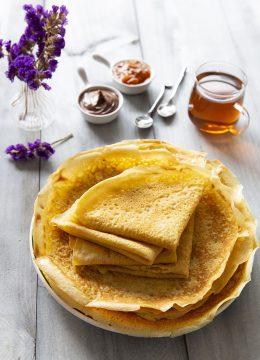 Pâte à crêpes sans gluten – crêpes souples et moelleuses