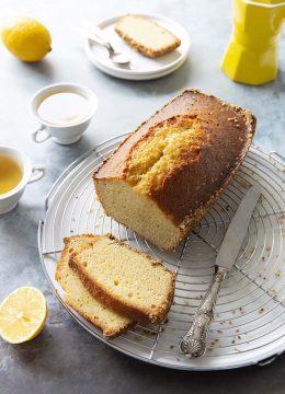 Cake moelleux au citron et croûte de sésame de Christophe Michalak