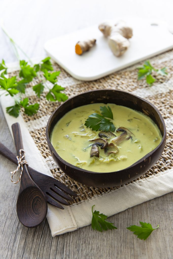Soupe au chou chinois et champignons | Recettes de cuisine